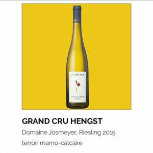 Grand Cru Hengst, Domaine Josmeyer, Riesling 2015